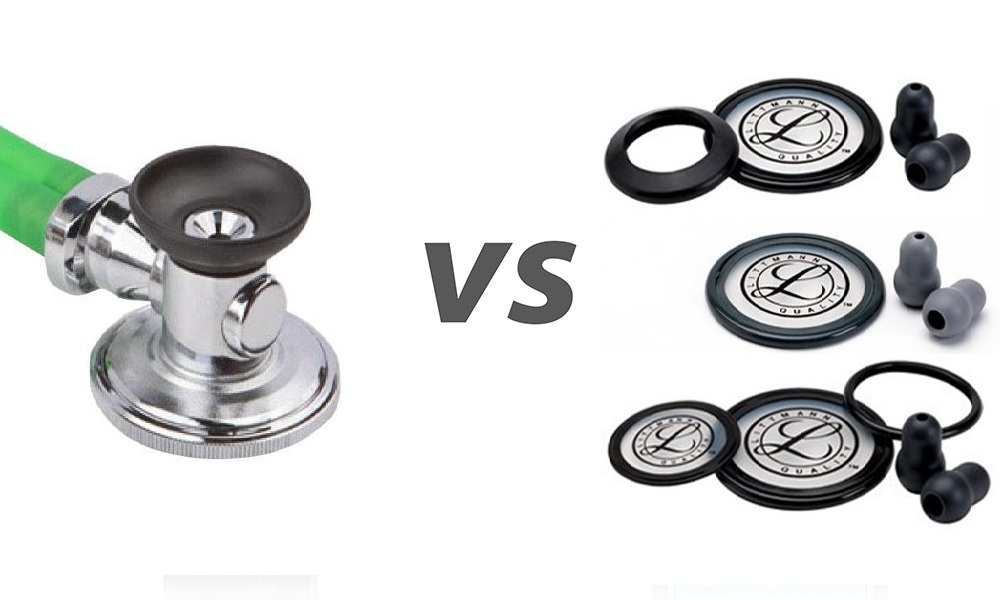 Stethoscope Bell vs Diaphragm